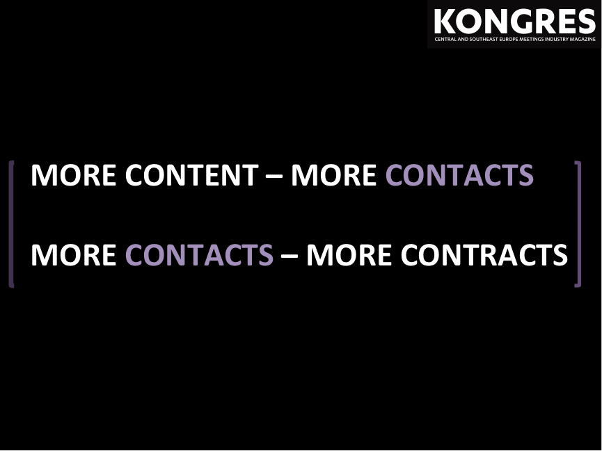More Contacts - More Contracts