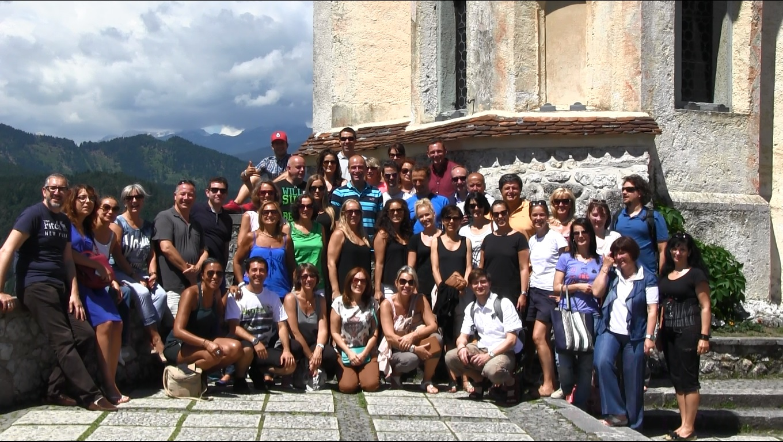 Bled castle, Slovenia 2014