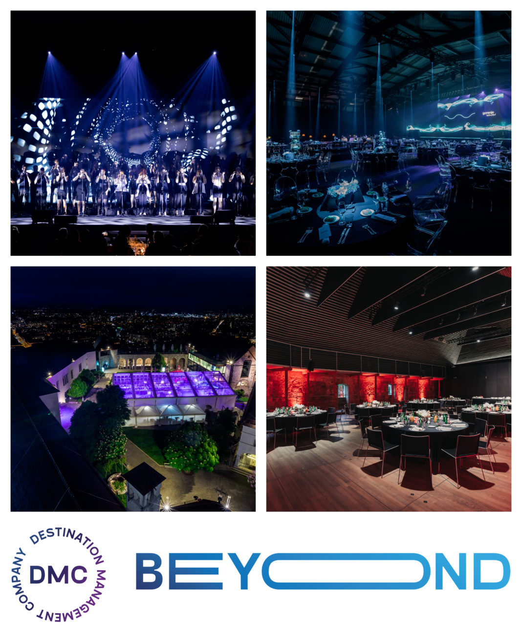 Beyond DMC, Collage of Events