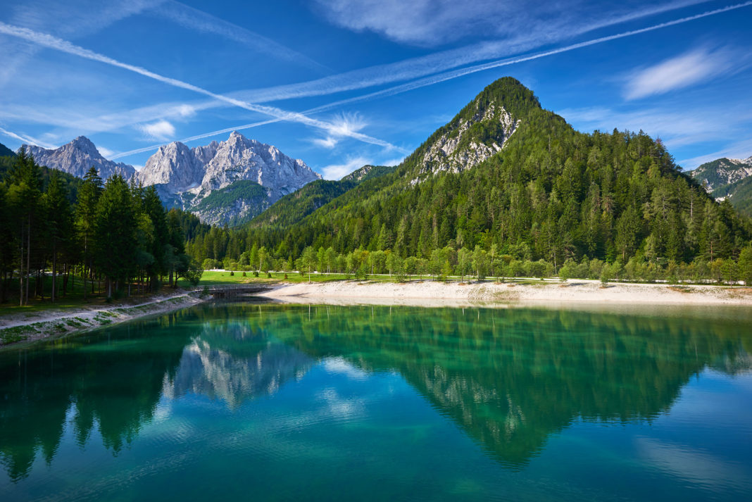 Lake Jasna, photo: Tomo Jesenicnik, slovenia.info