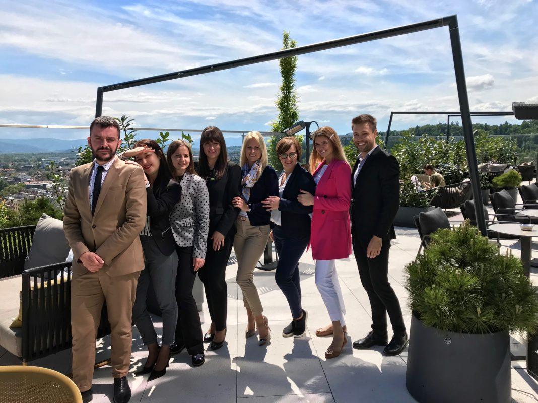 Team of the InterContinental Ljubljana