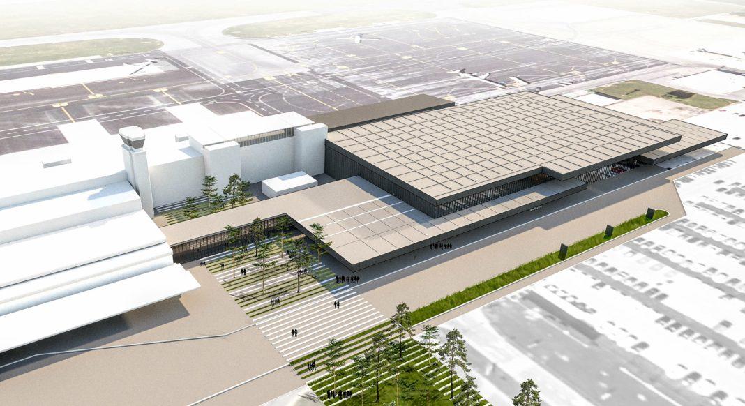 Ljubljana Airport Terminal