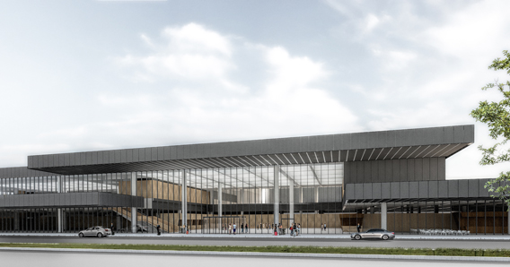 New terminal at Ljubljana Airport, Fraport Slovenija