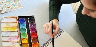 Painting workshop, Andreja Kranjec