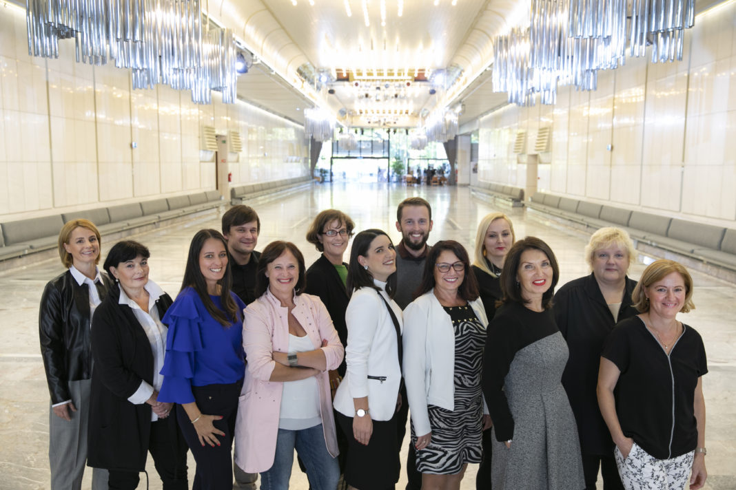 The CD Congress Team, photo by Tina Ramujkic