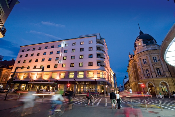 The Best Western Premier Hotel Slon Was Awarded With