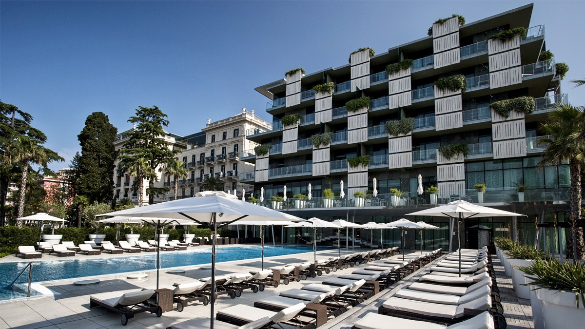 pretty nice various design great prices Kempinski Palace Portorož Named as Slovenia's Leading Hotel ...
