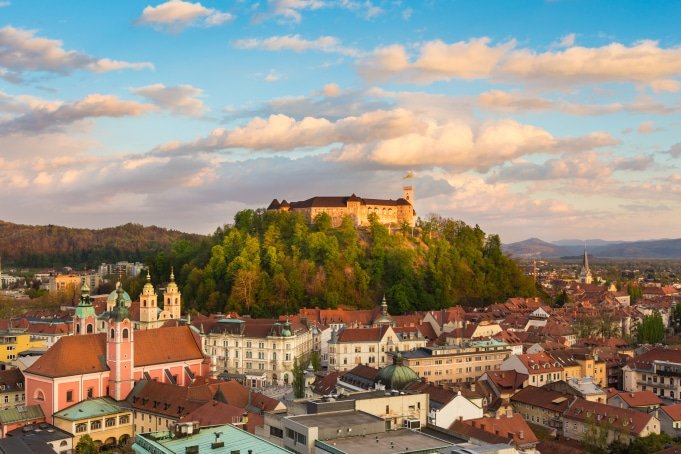 Ljubljana panorama © ljubljana tourism m.kastelic mostphotos the