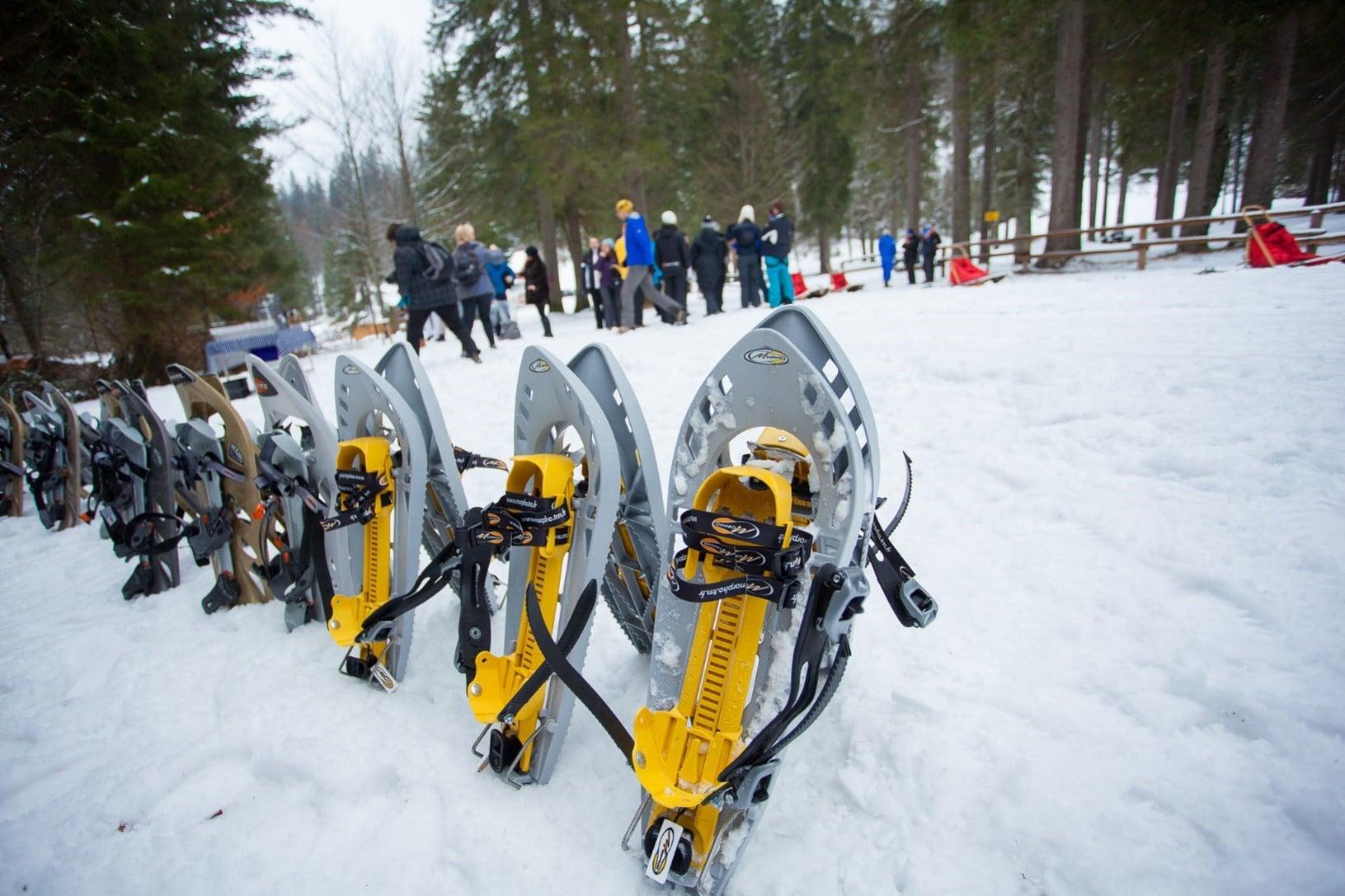 Snow shoeing Slovenia Incentives Intours
